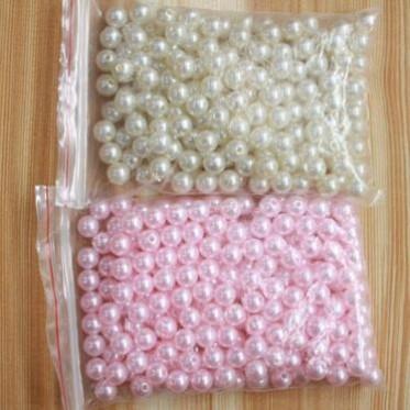 散装批发小珍珠 袋装小珍珠装 饰品批发 花店必备 厂家批发